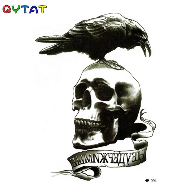 Wholesale Cool Designs Temporary Tatto/ Tatoo Horror Sticker Skeleton Tattoo