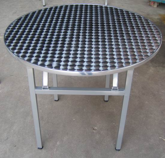 Good Quality Round Folding Aluminum Legs Dinner Buffet Tables Yt13a Buy Product On Alibaba Com