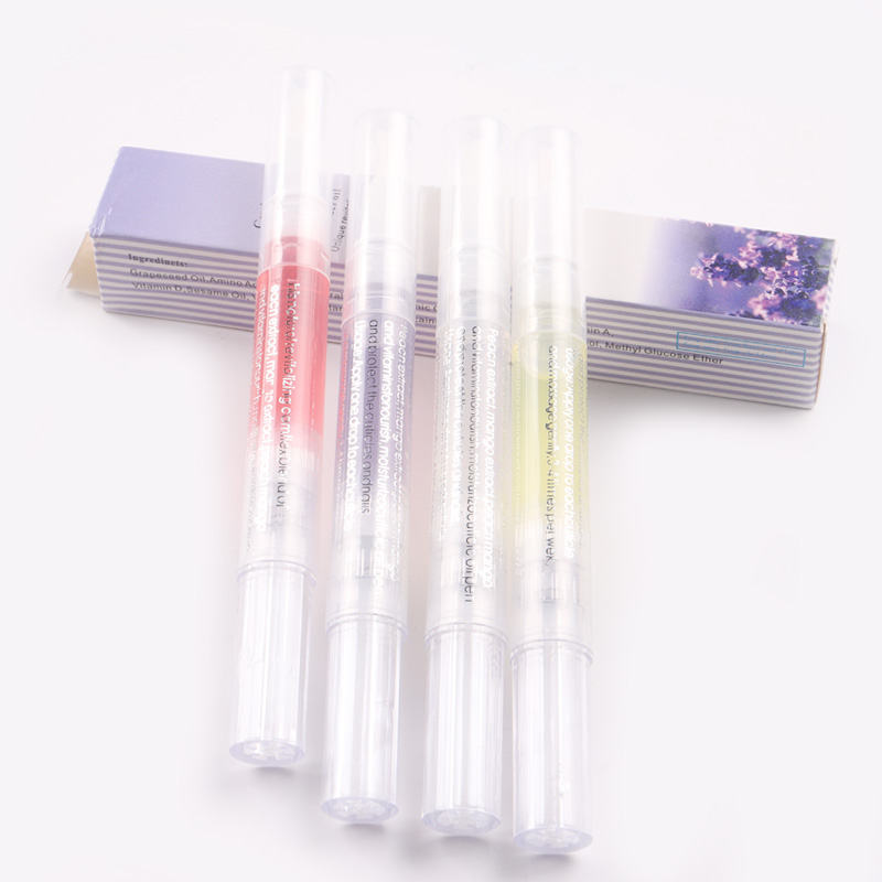 NB-3 high quality nail art cuticle revitalizer oil pen 8different Flavors nail art care cuticle oil pen