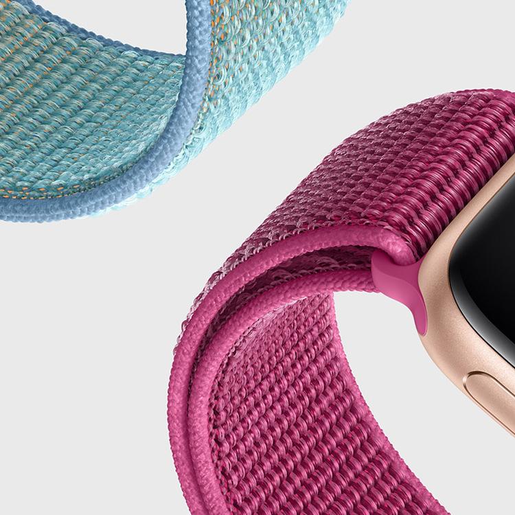 73 colors gift box Apple smart watch band sport loop nylon straps