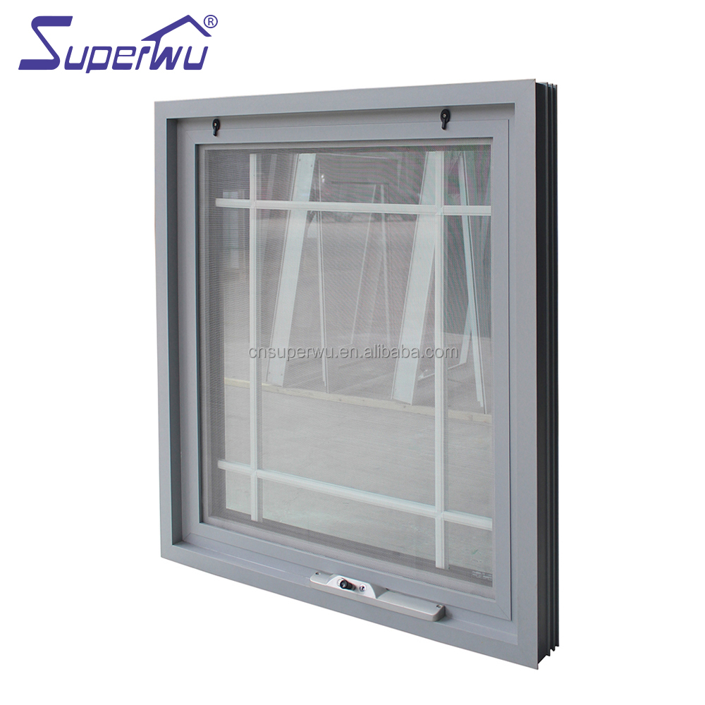 Miami area Aluminium Awning Window with impacted glass