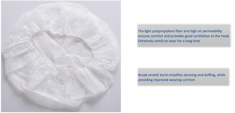 disposable surgical scrub caps medical hair cap mob cap disposable