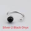 Silver-2 Black Onyx