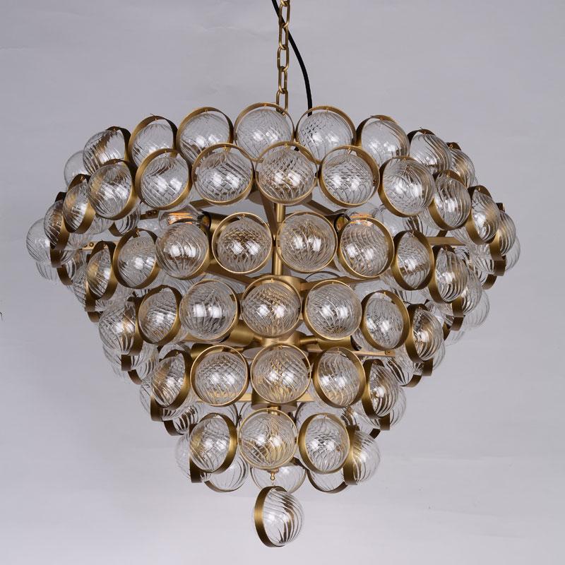 Изготовленный На Заказ медный стеклянный шар, освещение, производители, хрустальная лампа для дома, гостиницы, Декор, освещение комнаты