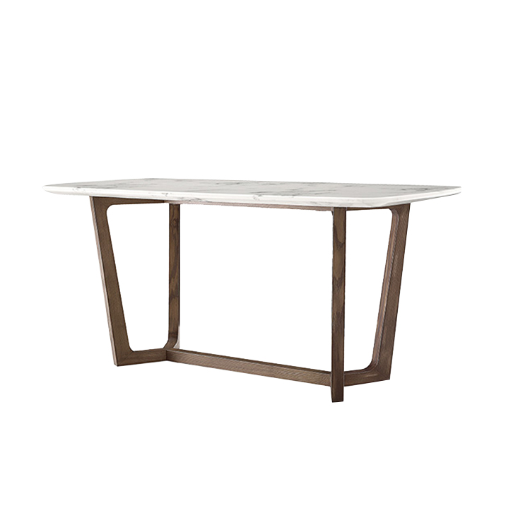 Best Price Light Luxury Faux Marble Effect Granite Top 4 Or 6 Person Solid Wood Legs Dining Table Set For Room Furniture Buy Nordic Style Light Luxury Faux Marble Rectangular Dining