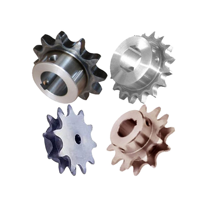 Custom drive chain sprockets for conveyor roller stainless steel pinion group wheel duplex double idler bearing sprocket