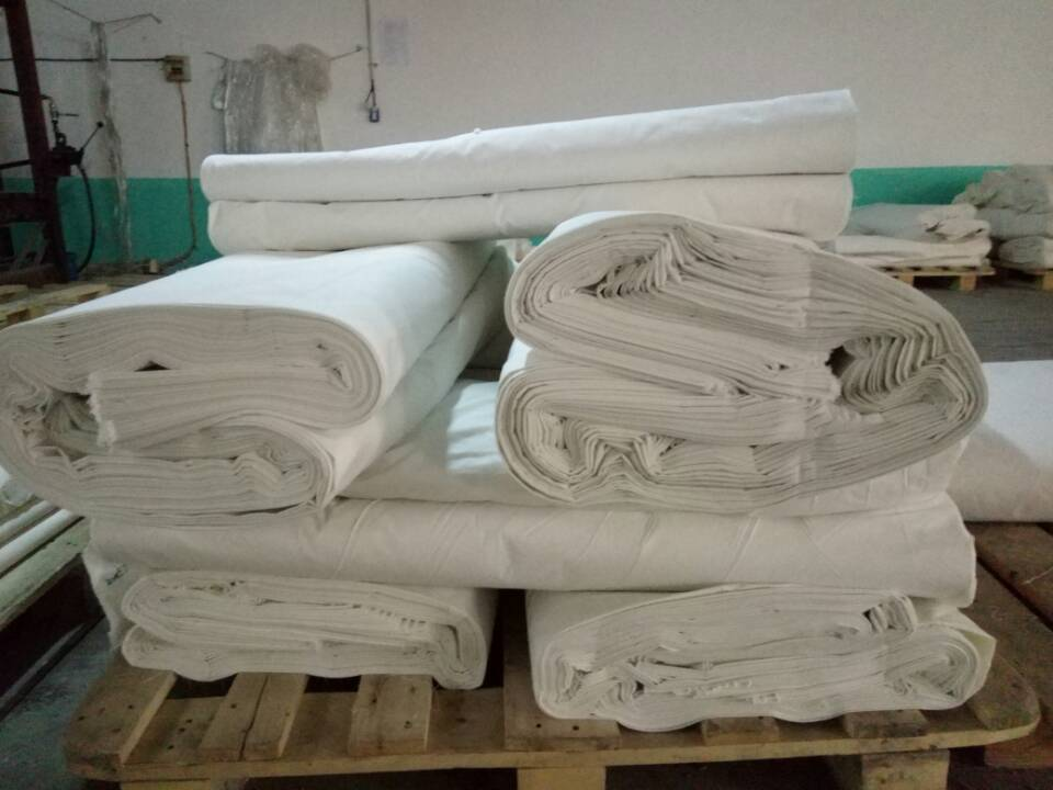 wholesale unbleached polyester cotton twill greige fabric