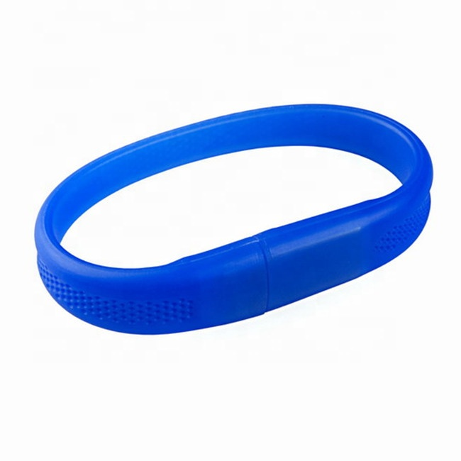 Soft rubber wristband USB memory stick Silicone bracelet USB Flash Drives novelty promotional gifts pen drive - USBSKY | USBSKY.NET