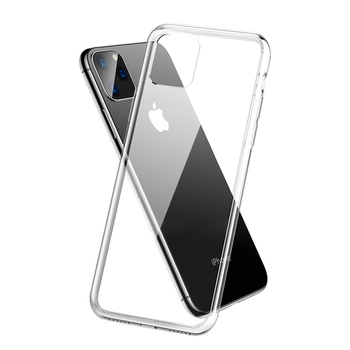 For iPhone 12 11 Pro Max X XR XS 8 7 6 Plus Wholesale Custom Soft TPU Ultra Thin Crystal Transparent Clear Phone Case Cover Bags
