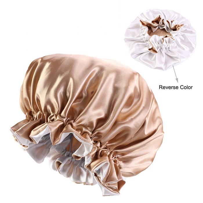 Best Selling Silk Bonnet Custom Designer Satin Hair Bonnet