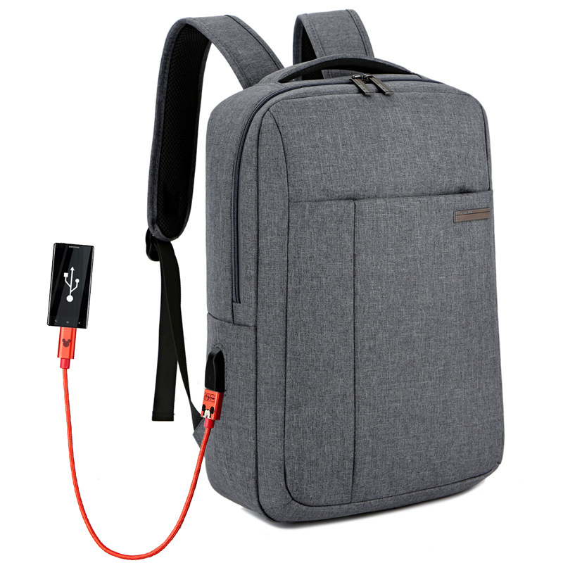 Rpet laptop backpack multifunction Fashion Durable rpet polyester fabric travel School Laptop bags backpack with usb charging