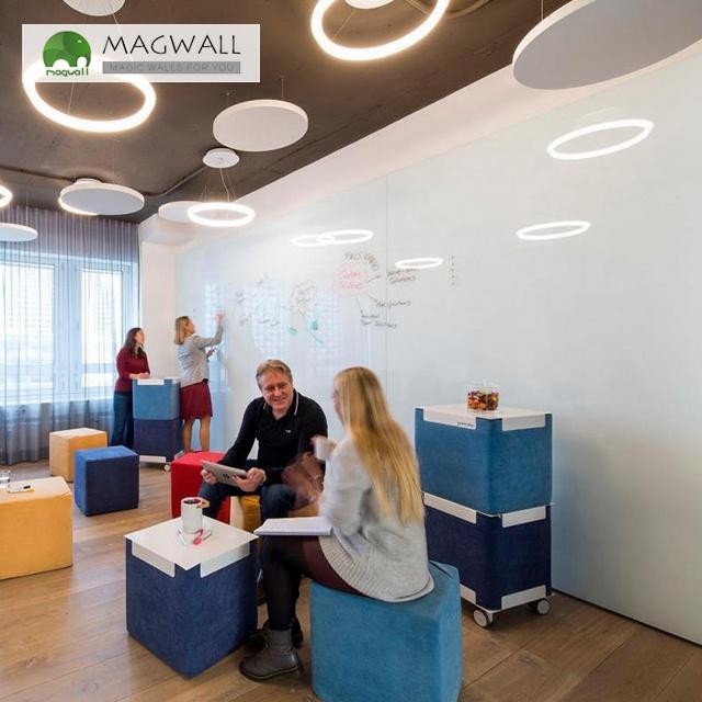 Magwall custom size Self-adhesive single-layer writing board drawing board PET film iron whiteboard sheet stain free - Yola WhiteBoard | szyola.net