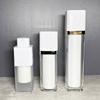 Square twist airless bottle