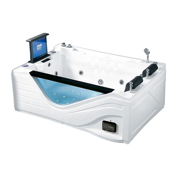 K-8938A 2 person hydro massage with tv luxury massage bathtub