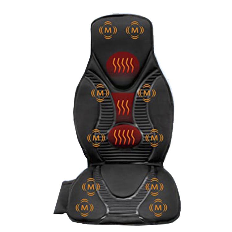 Robotic Vibration Massage Seat Cushion, Massager with Heat, 10 Vibration Motors for Neck