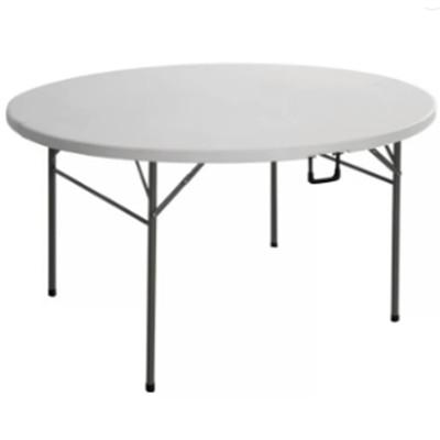 Открытый HDPE дешевые пластиковые столы 10 человек Отель Свадьба Круглый складной стол