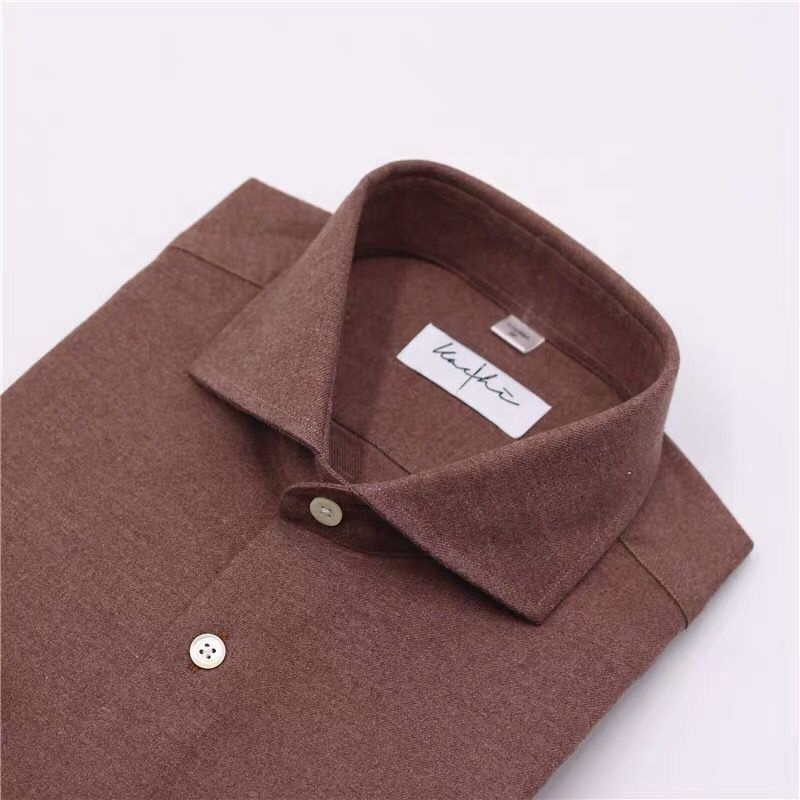 OEM MTM Custom made to measure custom tailored made to measure italian mans mandarin collar tuxedo shirts