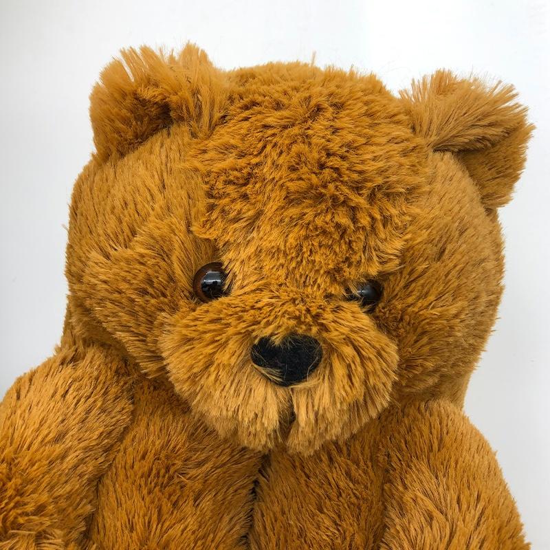 Новинка, Лидер продаж, теплые зимние плюшевые домашние тапочки Тедди