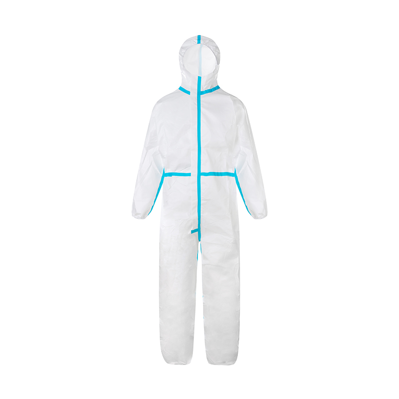 Coverall Microporous Protection Clothing Disposable Protective Clothing 14126 Anti-static Water Proof - KingCare | KingCare.net