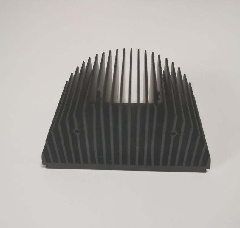 heatsink aluminum profile, aluminum profile extruded, aluminum profile half round heat sink