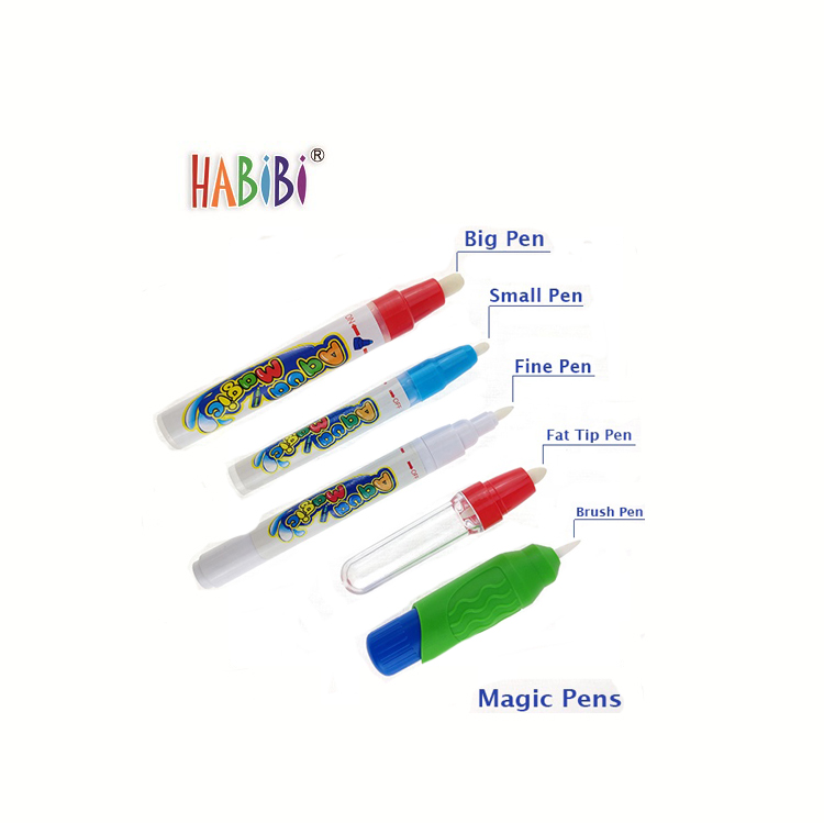 Innovative Design Reused Kids Doodle Mat Sea Toy Children Water cognitive learning doodle mat toy