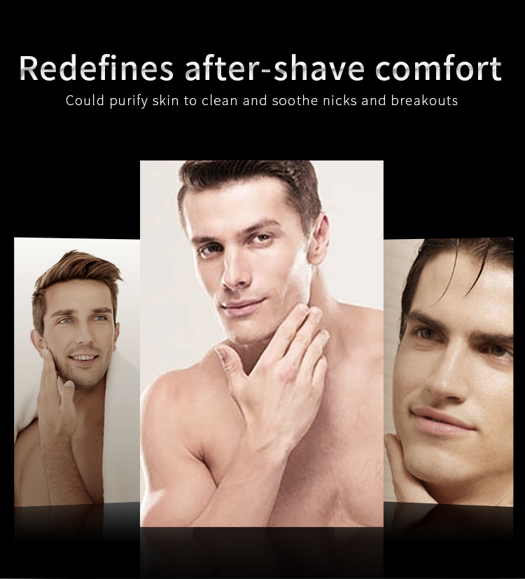 Arganrro Private Label Moisturizing Freshing Smooth Skin Beard Hair After Shave Lotion 50 Ml For Men