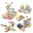 Toy Variable Electric Building Blocks Paradise Gear Rotating Toy Jigsaw Puzzle Set