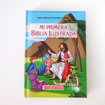 personalized foam covers kids catholic study bible story book in spanish