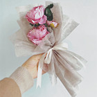 For Table Ready To Ship Waterproof Non Woven Paper For Flower Gift Wrapping Table Runner Decoration
