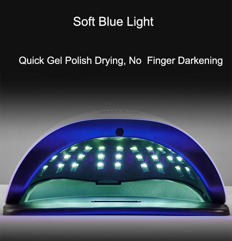 180 Вт Воздушный Гель-лак для ногтей Сушилка портативный стол краски светодиодная УФ лампа для сушки ногтей