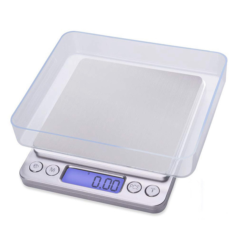 0.01-3kg LCD Digital Electronic Balance Jewelry Kitchen Food Weight Gram Scale