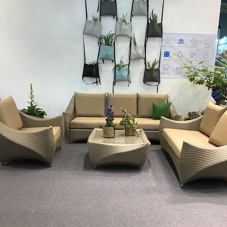 Отель Вилла садовый диван проект роскошная мебель из ротанга уличная мебель диван-кровать
