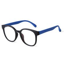 SO & EI модный Ультра-светильник, анти-Блю-Рей, прозрачные линзы, женские очки, винтажные Круглые разноцветные очки, мужские Оптические очки, оп...(Китай)