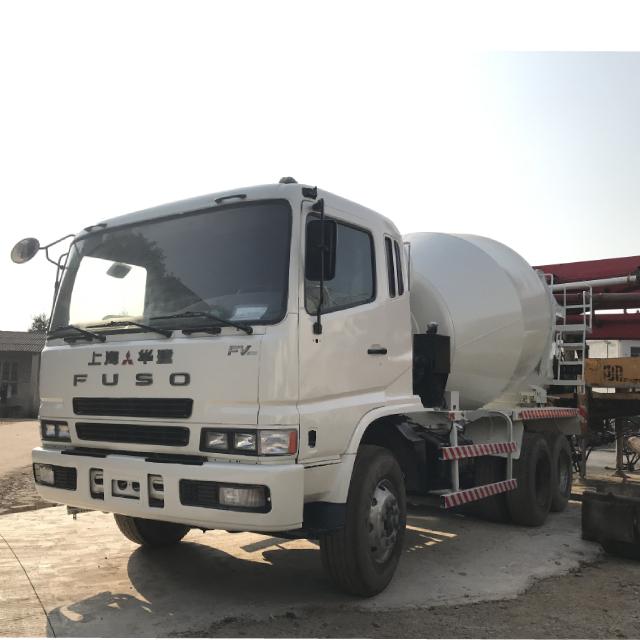 Wholesale Simple Pure White 12CBM Mixing Drum Hino Transport Mixer Truck