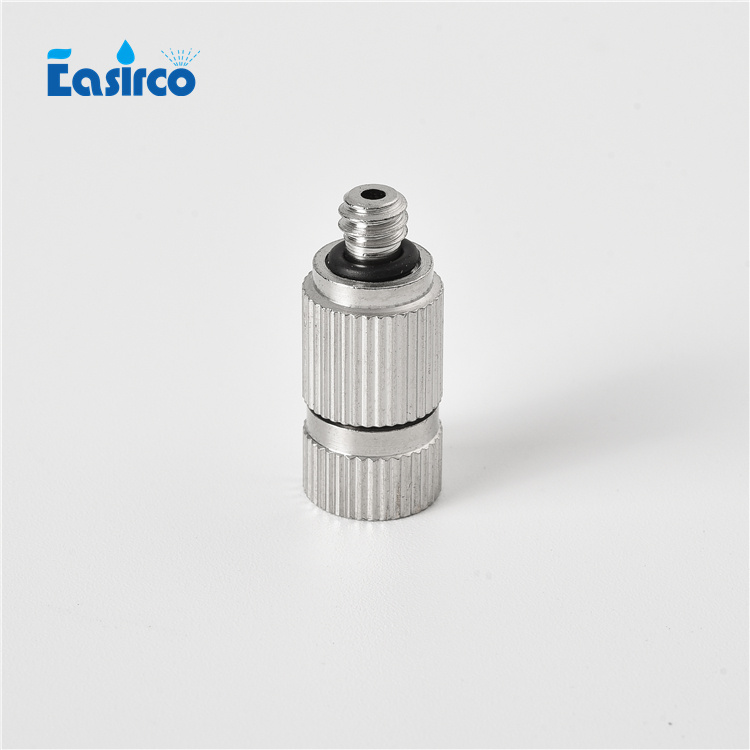 High pressure fog machine ss mist cooling nozzle and Stainless steel nozzle mist nozzle mist sprayer