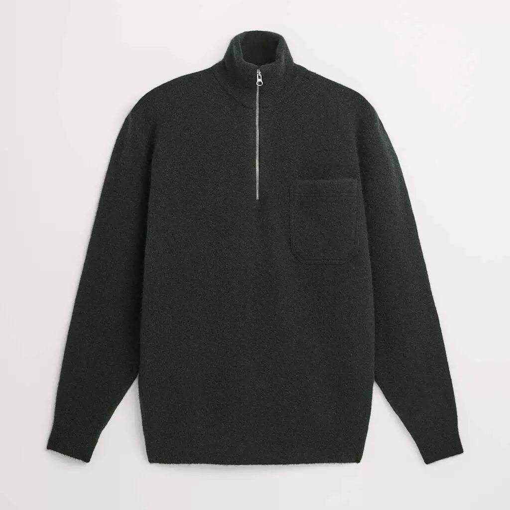 Весенне-летний мужской джемпер с вырезом лодочкой и длинным рукавом, мужской свитер с контрастным бантом и накладным карманом из меланжевого хлопка