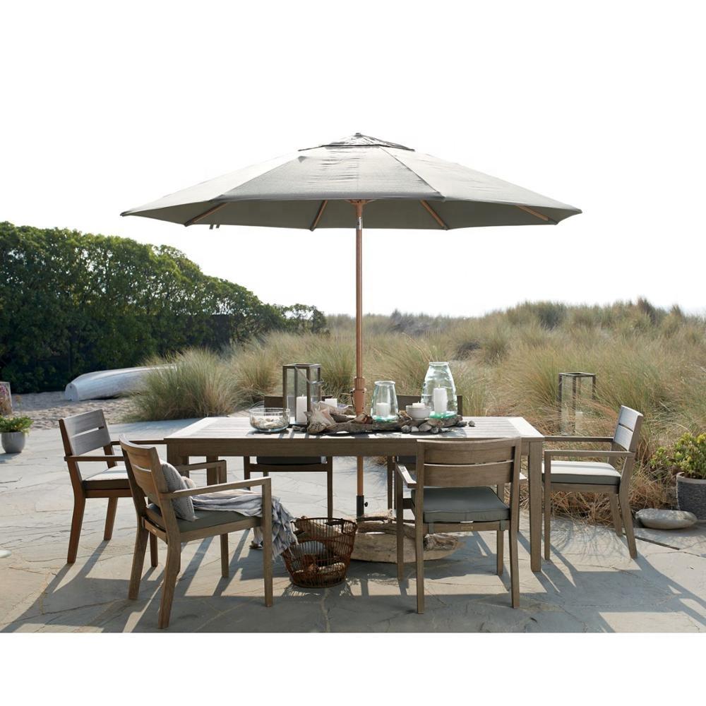 Luxury outdoor furniture  outdoor teak table set outdoor table teak