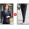 Women Navy suits(blazer+pants)