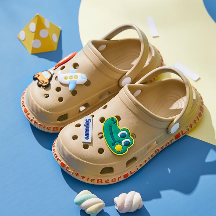 Заводские высококачественные детские разноцветные садовые Сабо; Красивые туфли с отверстиями для мальчиков и девочек; Детские сабо из ЭВА