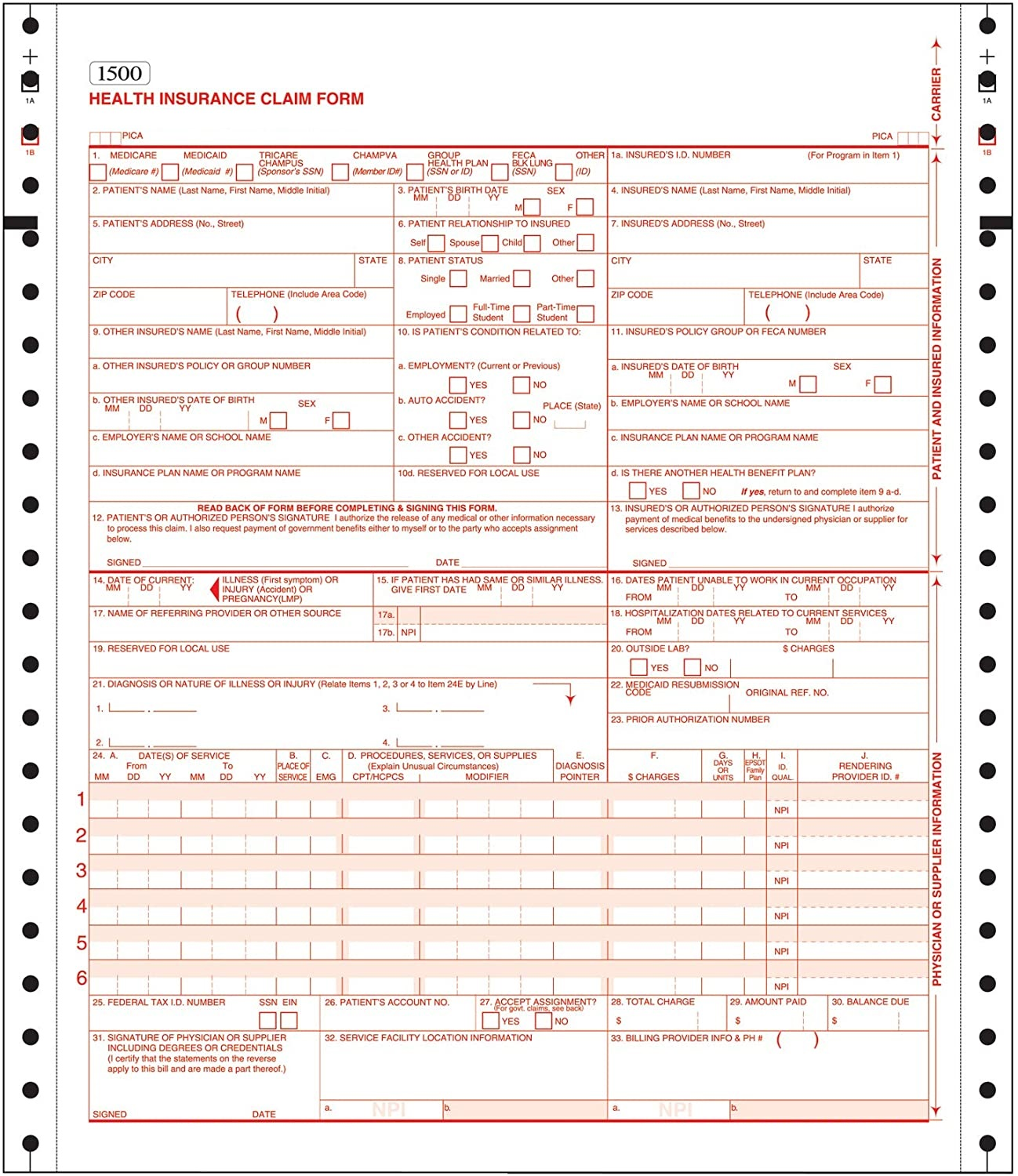 Customized Receipt/Invoice/Warranty Office Paper CB/CFB/CF 8.5 * 11 NCR Carbonless Paper 9.5 *11 Computer Forms