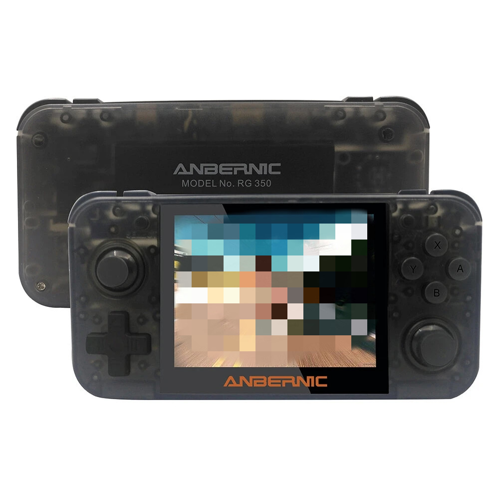 ANBERNIC RG350 3.5 inch IPS Screen 64Bit 16GB 2500+ Games Handheld Video Game Console Retro Player for PS1 for GBA for FC FOR MD ANBERNIC RG3503.5 inch IPS Screen 64Bit 16GB 2500+ Games Hanldheld Video Game Console Retro Player for PS1 for GBA for