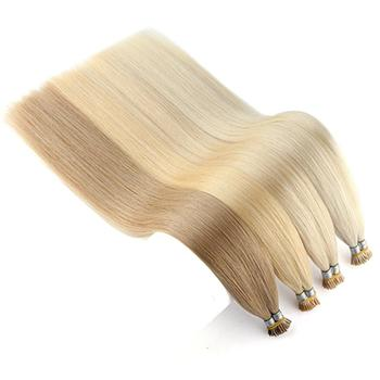 Neitsi 20inch I Tip Remy Human Hair Extensions Straight Double Drawn I-Tip Hair Extension