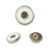 8563#Mat gold&White  20mm