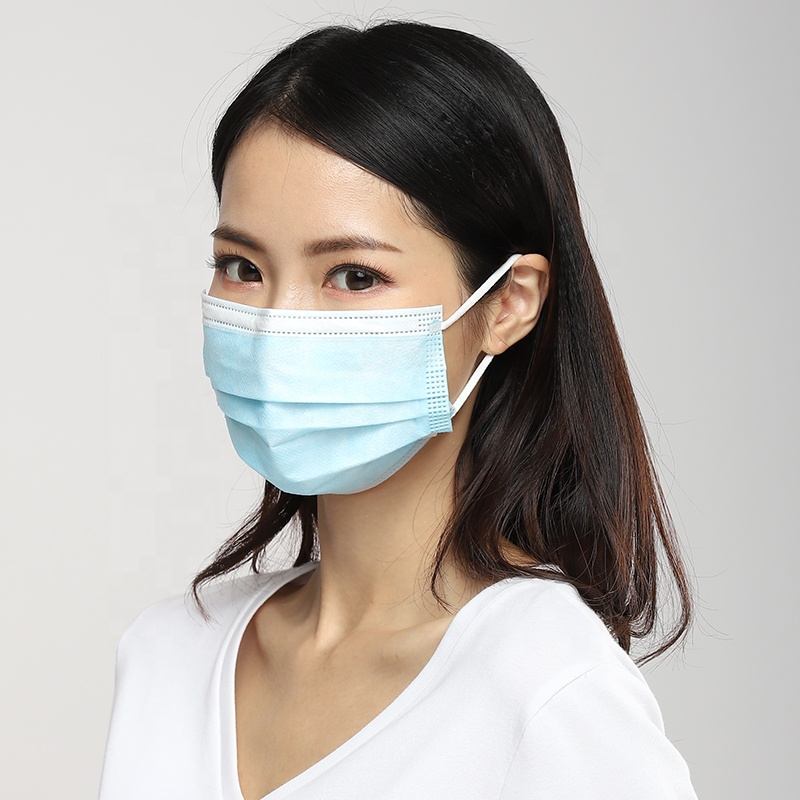 Non-medical earloop 50 pcs 3ply disposable face mask with box packing - KingCare   KingCare.net
