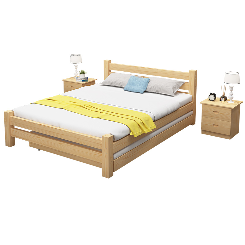 Wholesale Single Double Pull Out Solid Pine Wooden Bunk Bed For Japan Korea Buy Double Bunk Beds For Kids Kids Bed Bed Frame Wood Product On Alibaba Com