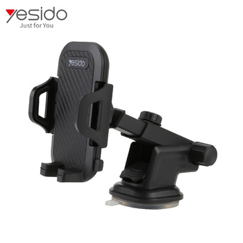 Universal Washable Suction Cup Base Cell Phone Holder Mount 360 Adjustable Car Mobile Bracket For Sale