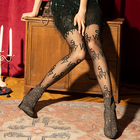 Sex Tights Designer Custom Printed Pantyhose Letter Tights Fashion Mature Pantyhose Sex