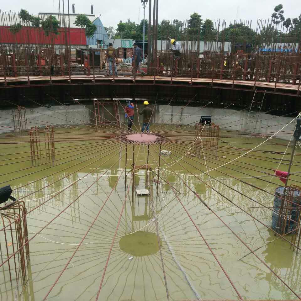 Hydraulic granary cement construction sliding form