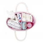 Diaper Bag Rope Diaper Bag Large Cotton Rope Diaper Caddy Nursery Storage Basket Bin Organizer Bag