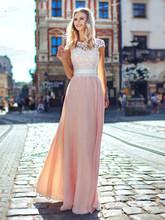 Свадебные платья LORIE Boho, 2020, светильник с открытыми плечами, розовое пляжное платье невесты, мягкое фатиновое свадебное платье, винтажное пл...(Китай)
